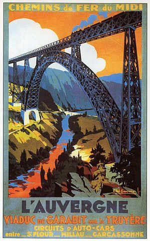 Qu'elles sont belles ces affiches des chemins de fer de l'état et autres... Il suffit de les laisser défiler devant vous et vous voyagez assis dans votre fauteuil. De très nombreuses affiches sont réalisées par des artistes régionaux... Pas de légendes...