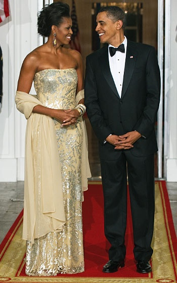 The President and First Lady are literally the definition of class and sophistication. I look up to Michelle Obama for so many reasons, one including her Let's Move campaign.