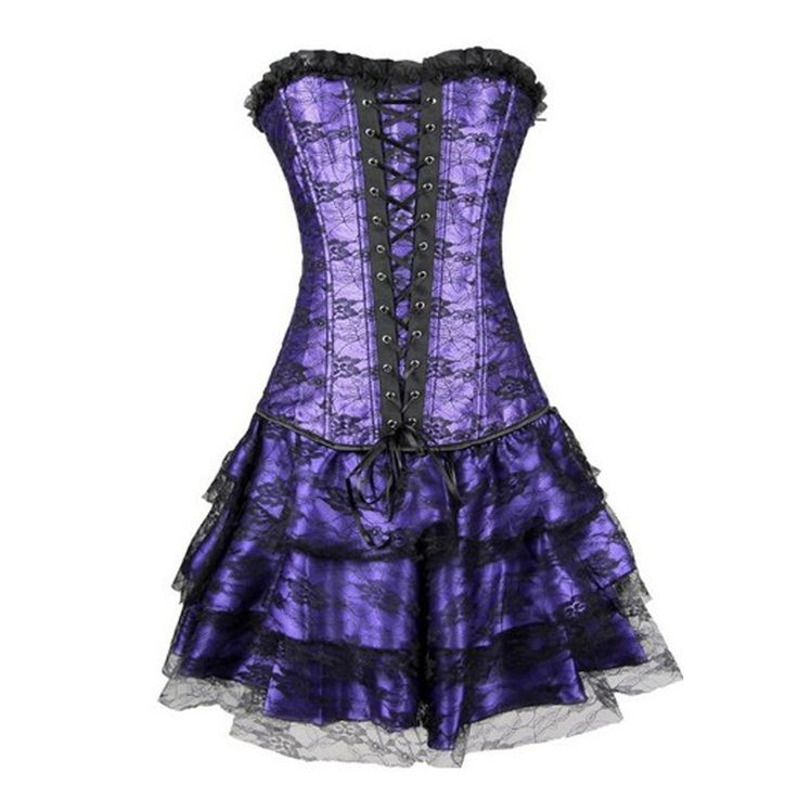 Hot Sale Sweetheart Corset Gothic Purple Wedding Dress: 62 Best IFW Trapeze Costumes Images On Pinterest
