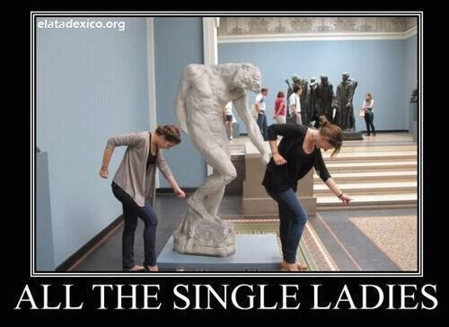 I can still hear the song in my head.: So Funnies, Dance Moving, Hands, Statues, Art Humor, Rings, Art History, Single Lady, Funnies Stuff