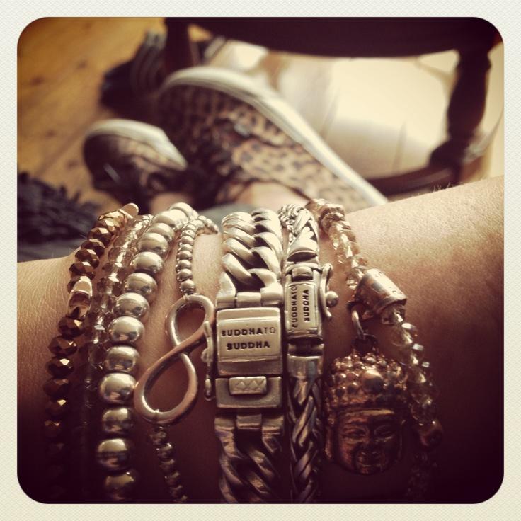 Armcandy: buddha to buddha, infinity and biba bracelets