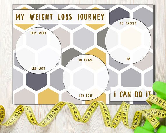 Weight Loss Tracker Weight Tracker Weight Target Overview