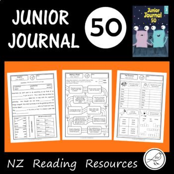 Follow-up activity sheets for 'Junior Journal 50' An excellent resource for your reading programme that will save you a lot of time. This resource contains: * Ordering events. * Cloze, compound words, suffix (-ful). * Word search. * Alphabetical order, unjumble the words, circle the correct spelling, word frames. *