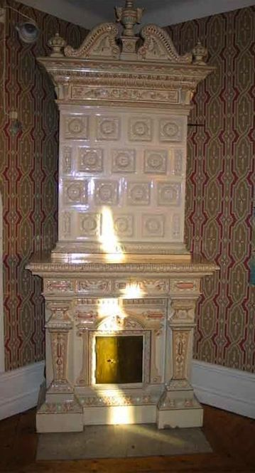 Swedish tile fireplace - Live Like You & Marmalade Interiors