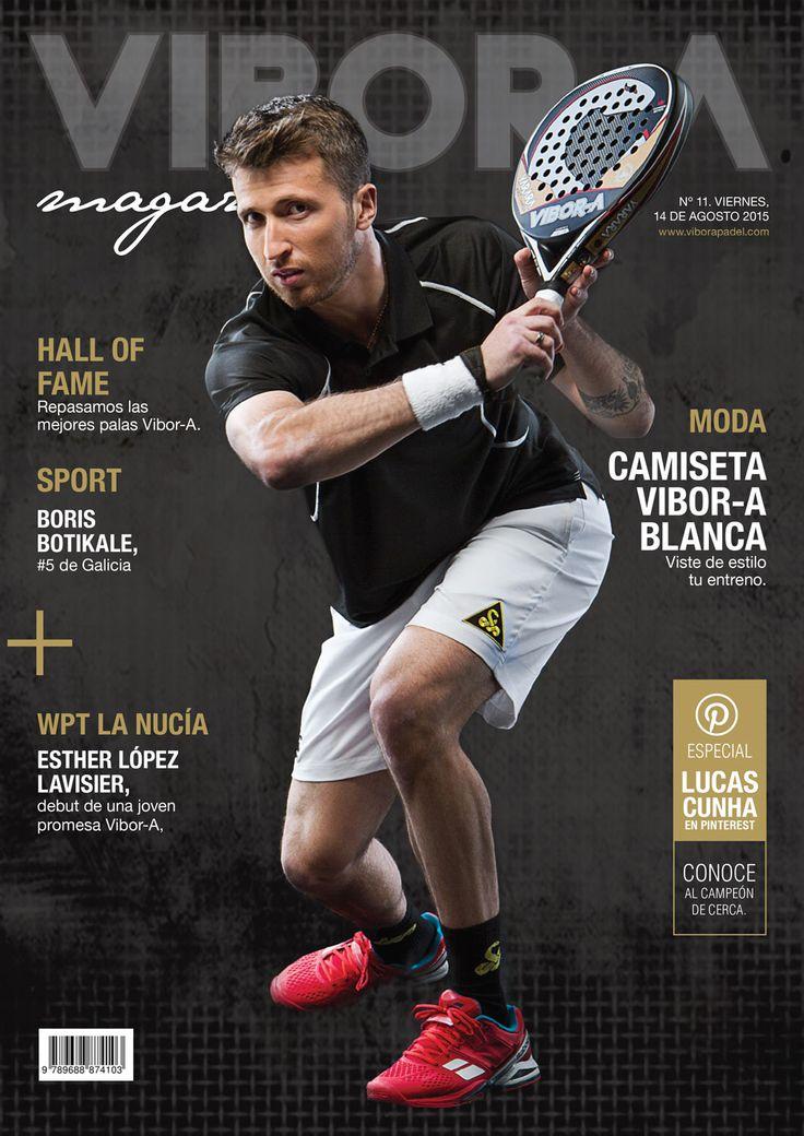 Lucas Cunha en portada.