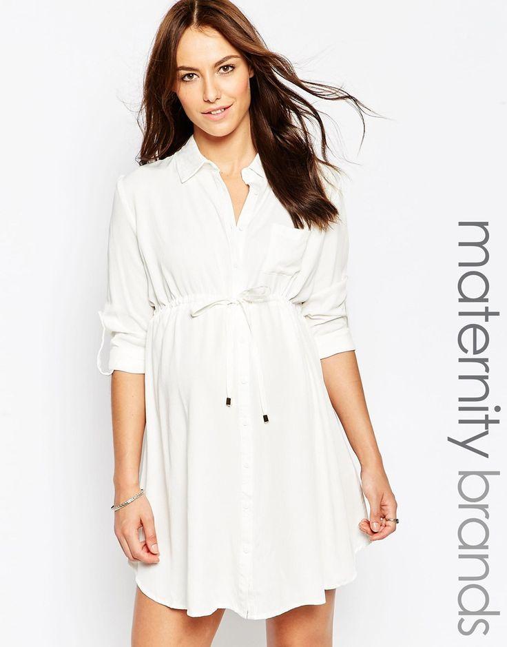 Image 1 of New Look Maternity Shirt Dress