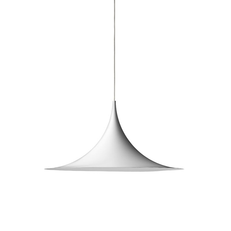 Semi pendant (1967) from GUBI design by Danish designers Claus Bonderup and Torsten Thorup.