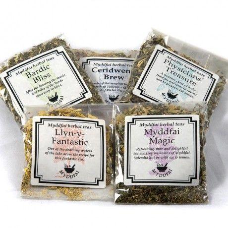 Myddfai Herbal Tea Sampler Set