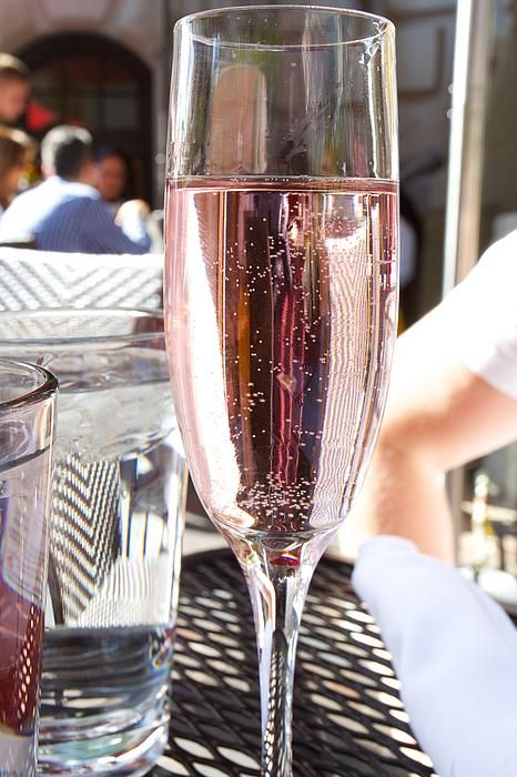New print available on fineartamerica.com! - 'Pink Prosecco' by Allan Morrison -