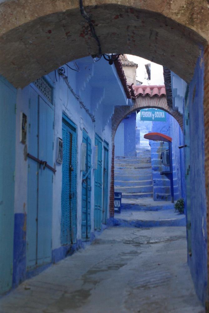 Straatje in marokko