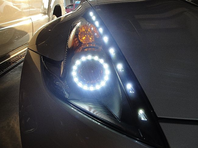 Nissan 370Z LED Headlamps | custom headlights - Nissan 370Z Forum
