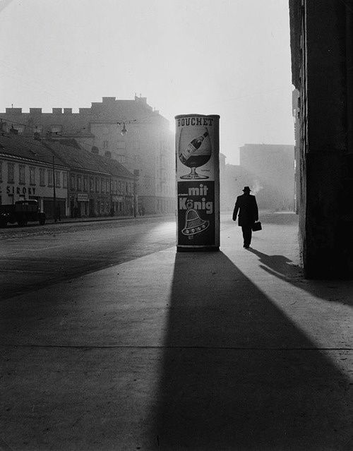 Vienna, 1960, photo by Elfriede Mejchar via retrokino