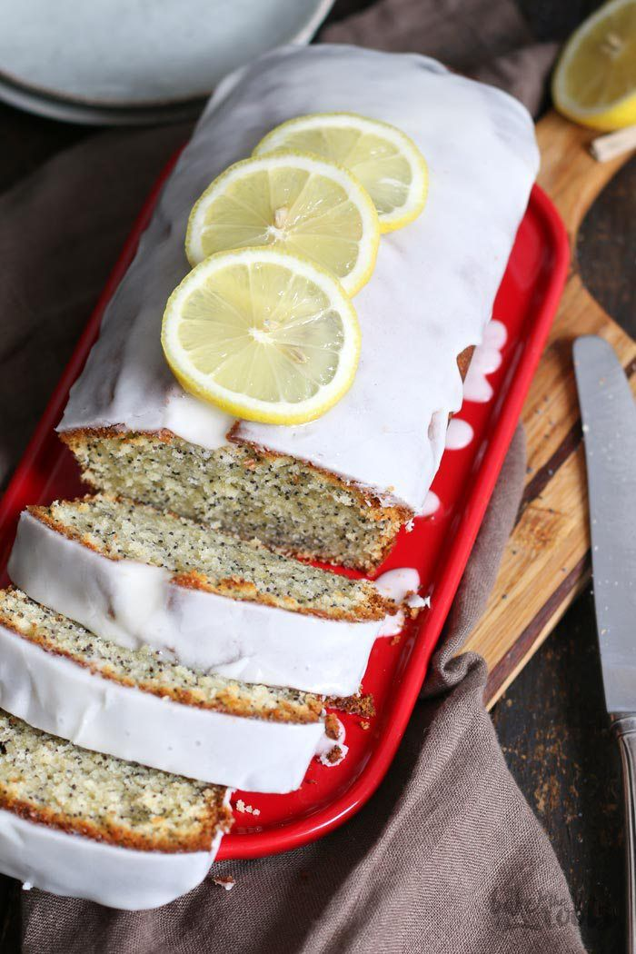 Lemon Poppy Seed Loaf Cake | Bake to the roots