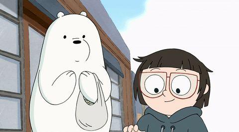 Ice Bear et Chloe