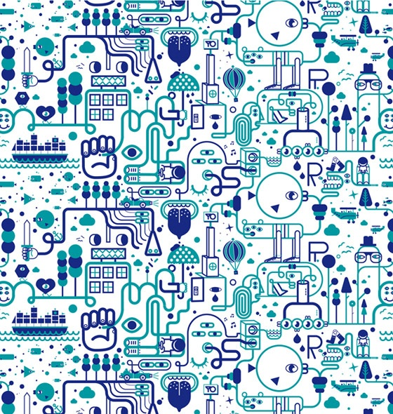 Graphic Patterns by Jonathan Calugi