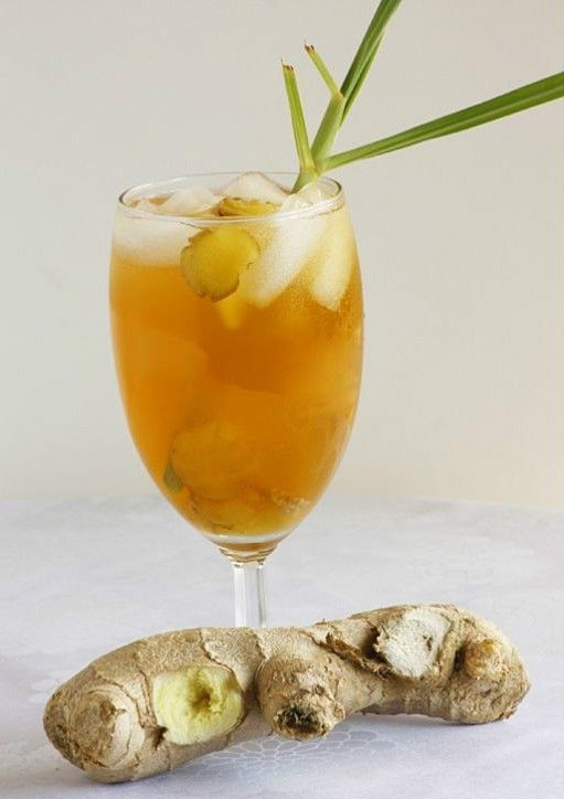 While technically a non-alcoholic drink, this Ginger Lemongrass drink can be spike with vodka to give it quite a kick!