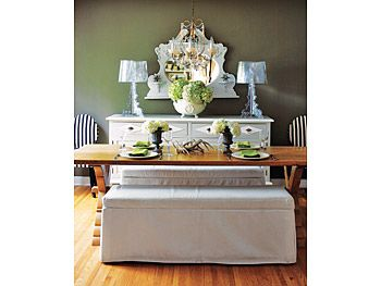 Kirsten Hollister's dining room. A small detail of a wonderful home!