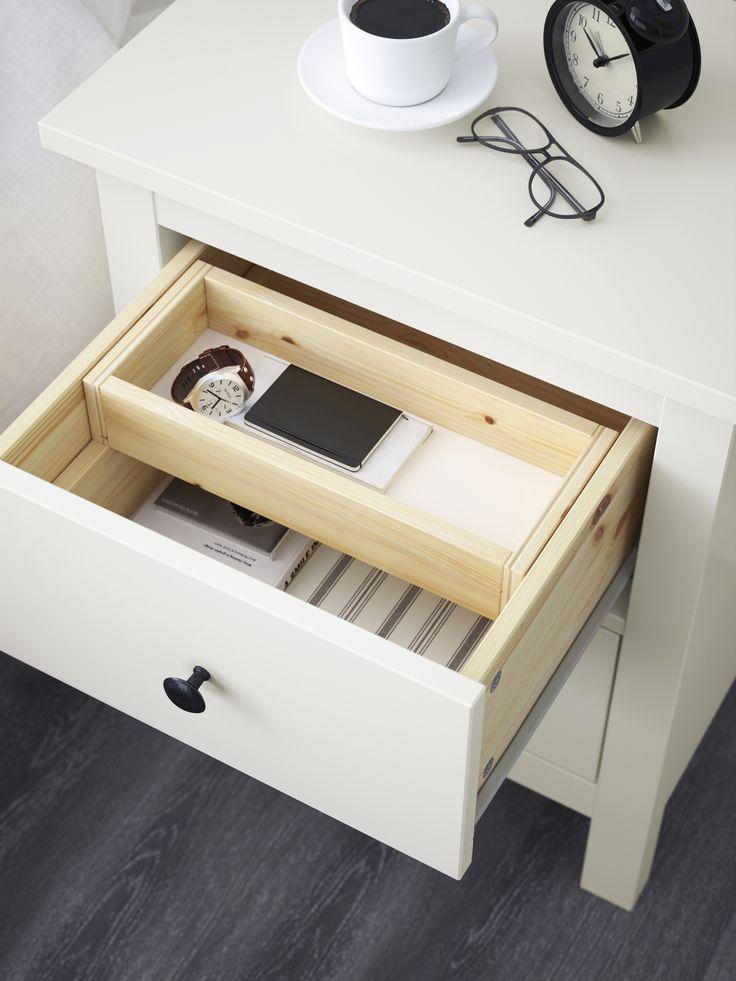 die besten 25 hemnes nachttisch ideen auf pinterest. Black Bedroom Furniture Sets. Home Design Ideas