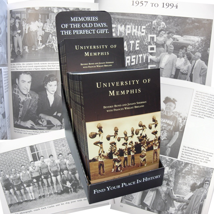 The 100-year transformation of the University of Memphis from a small teacher-training school to a major metropolitan research university is chronicled in Campus History Series: University of Memphis. Now available at Tiger Bookstore!