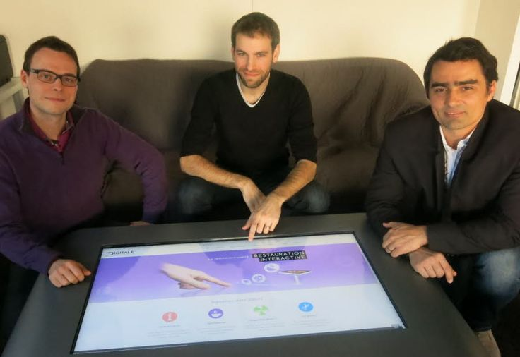 Domène : Digitale Interactive lance son mobilier tactile