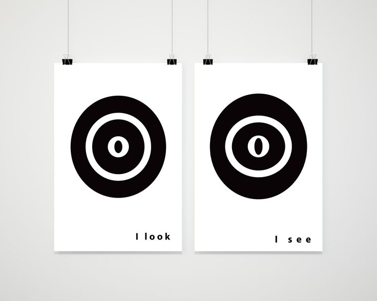 I look | I see, posters