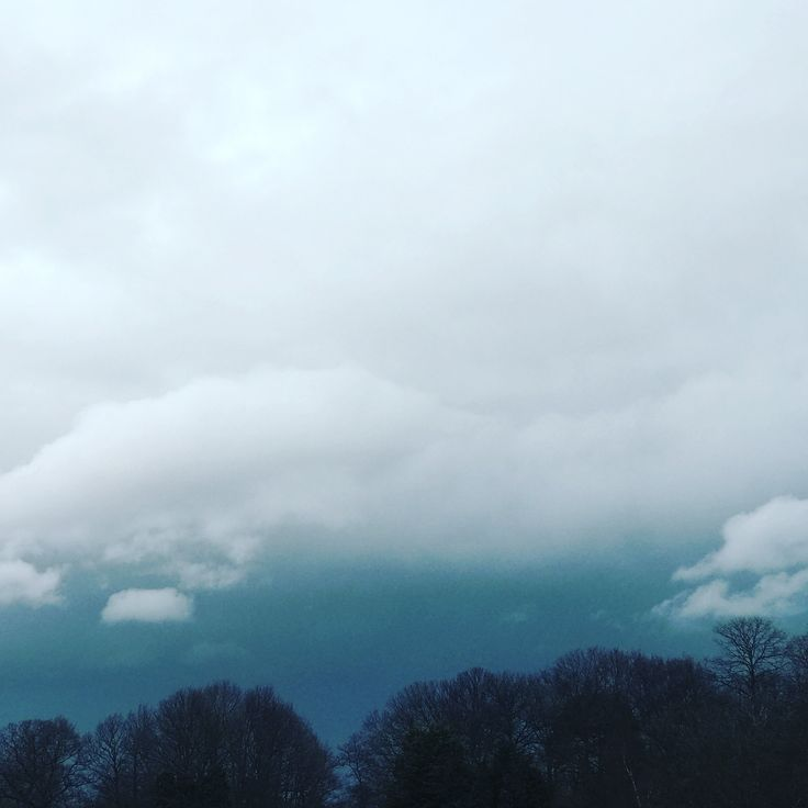 Stormy skies at Bethlem Royal Hospital where you can walk the fields with your pooch if you register your details