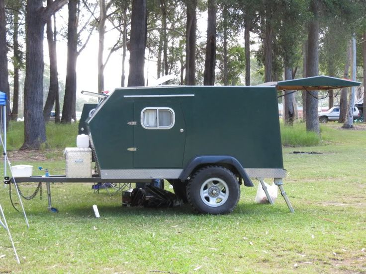 A Cool Homemade Camper Camping Stuff Pinterest