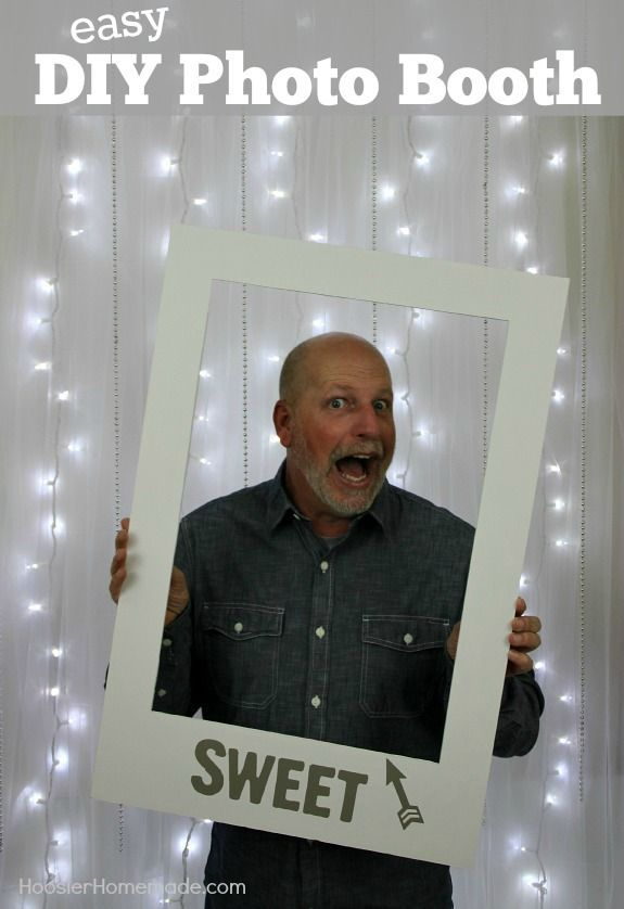 Easy Diy Photo Booth Wedding Graduation And Photo Booths