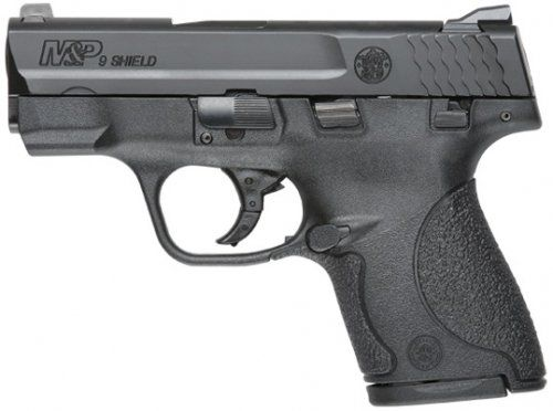 Smith & Wesson's new M&P SHIELD™ is a slim, concealable, lightweight, striker-fired polymer pistol. Available in 9mm and .40 S&W, the new M&P SHIELD features a slim design com