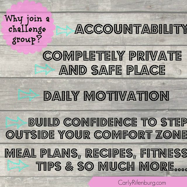 Why Join a Challenge Group? What is an online accountability group? Rescources for coach binder.