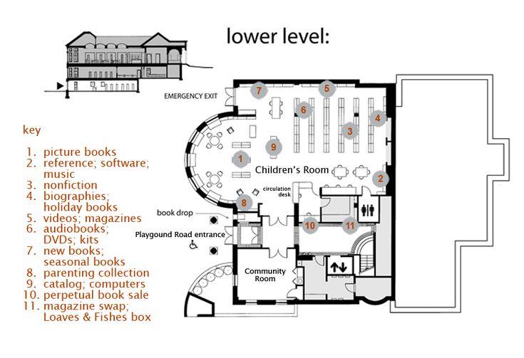 Floor Plan Groton Public Library Floor plans