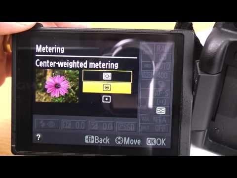 ▶ Nikon D5100 beginner basic guide part 1 Info screen settings tutorial - YouTube