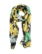 'Abstract' Floral Scarf
