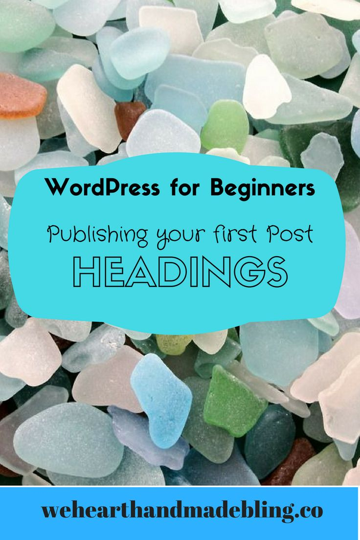 Designed in Canva So today, I'm going to help you learn how to use html headings in your WordPress blog posts. This issue came up last week when Sharon was ready to publish her blog post and wanted a couple of headings in her Web copy, so I know that this article will come up …