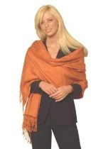 CASHMERE (PASHMINA) SHAWL, REGULAR size from CASHMERE PASHMINA GROUP, IN 55 VIBRANT COLORS