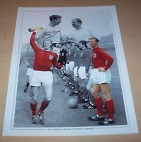 Jack Charlton - England Signed 16x12 Montage Photo 1966 World Cup Winners