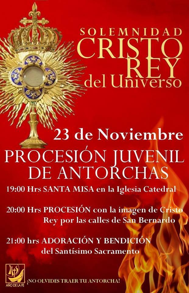 Afiche Cristo Rey 2013