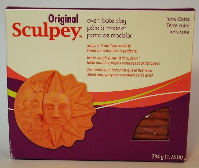 DECODANCE - Original Sculpey - Terakota - www.decodance.cz