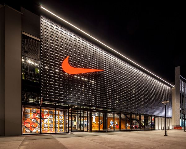 It is one strong #brand, no doubt about it | Nike. No need for words. #retail