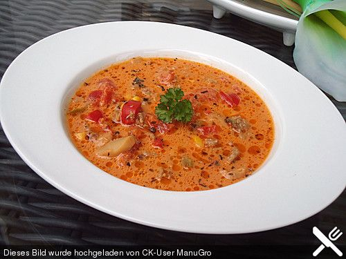Omas Pizzasuppe, ein gutes Rezept aus der Kategorie Schwein. Bewertungen: 296. Durchschnitt: Ø 4,5.
