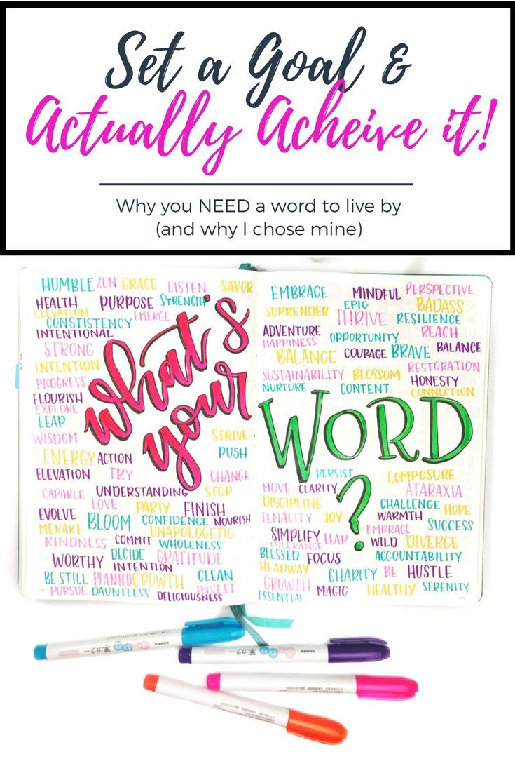 b84792ed23926d What is YOUR word of the year - and HOW will this help achieve your goals   Constantly remind yourself what you are working toward - and there s no way  to go ...