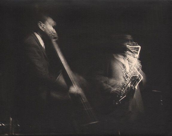 Beuford Smith Paul Chambers, John Coltrane, c. 1970 Vintage gelatin silver print