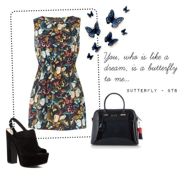 """""""Outfit #05"""" by caroluemura on Polyvore featuring moda, Mela Loves London, Jessica Simpson e Paul's Boutique"""