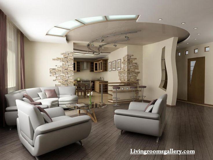 elegant pop false ceiling designs for living room