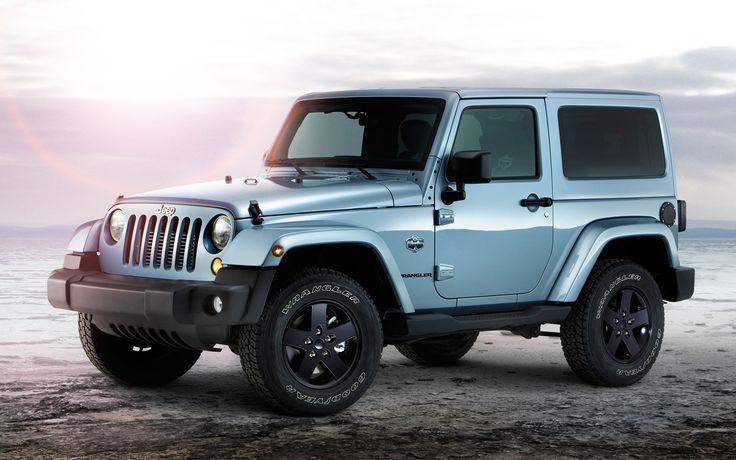 jeep wrangler artic edition light blue