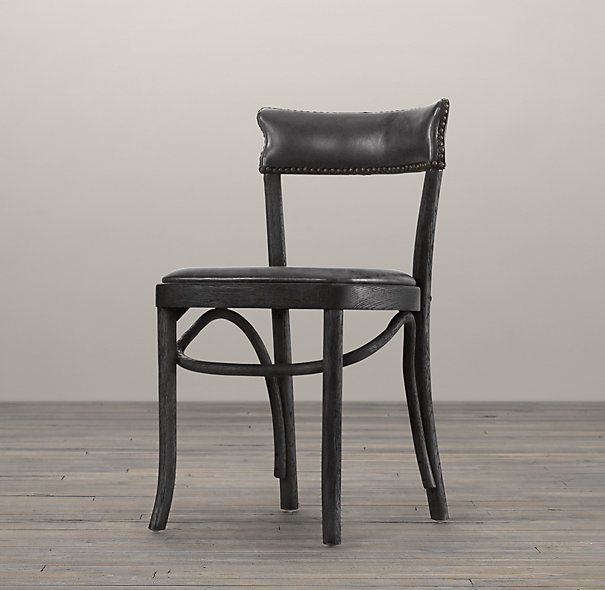 vienna cafe side chair slate leather restoration. Black Bedroom Furniture Sets. Home Design Ideas