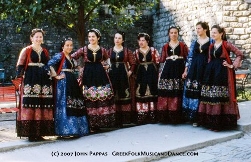 Greek Costume ~ Greek Folk Music and Dance ~ John Pappas ~ Ioannis Pappayiorgas ~ Greek Dance Greek Music Klarino Bouzouki Greek Instruments Greek Clarinet