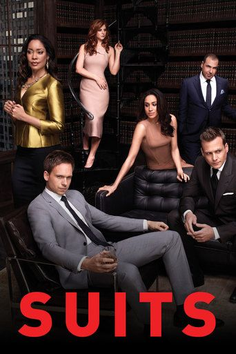 Suits - Patrick J. Adams as Mike Ross, Gabriel Macht as Harvey Specter, Rick Hoffman as Louis Litt, Meghan Markle as Rachel Zane, Sarah Rafferty as Donna Paulsen, Gina Torres as Jessica Pearson