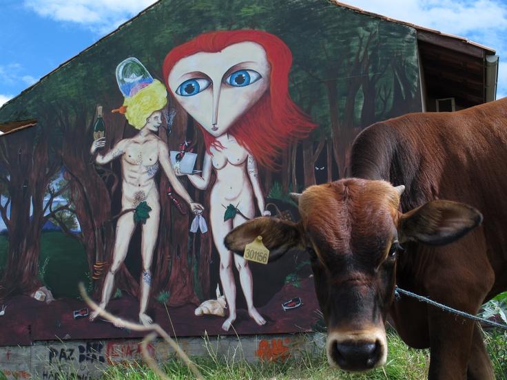 Graffiti Farm Art