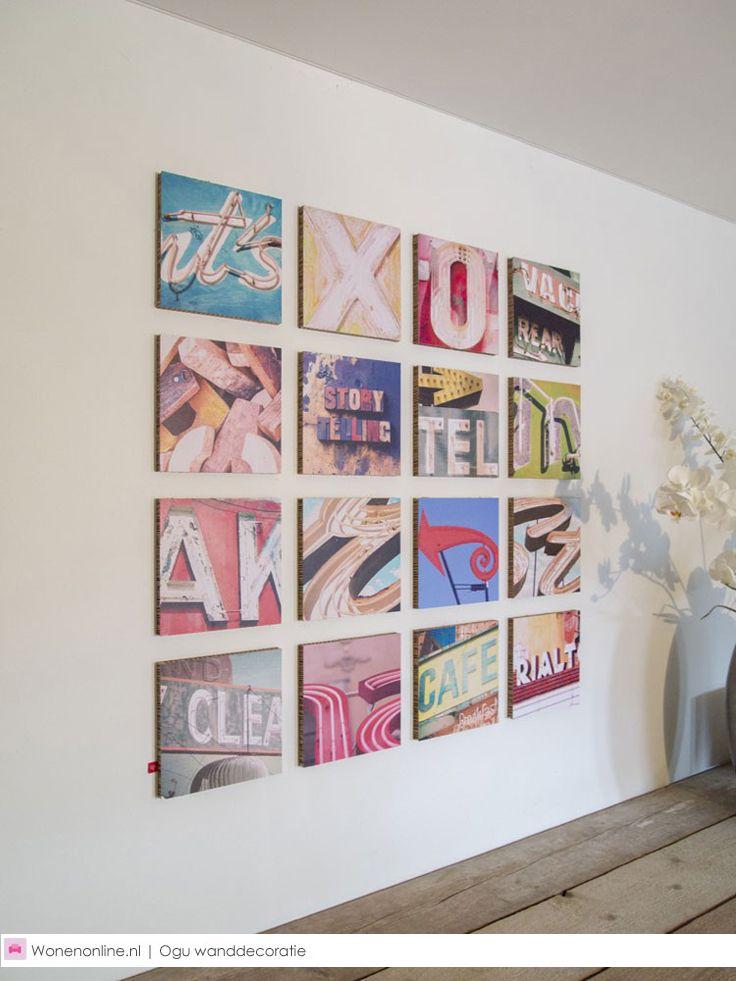 De nieuwe designtrend op het gebied van wanddecoratie! Ogu is opvallend, uniek en gemakkelijk te plaatsen en voorzien van een interessant thema. #ogu #woontrend #interieur #love